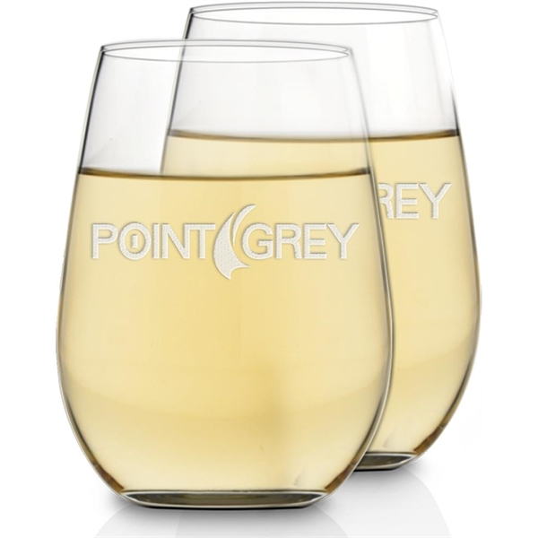 Customized Riesling Wine Glasses - Set of 2
