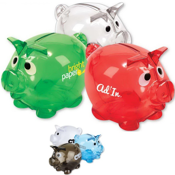 Personalized Moe the piggy bank