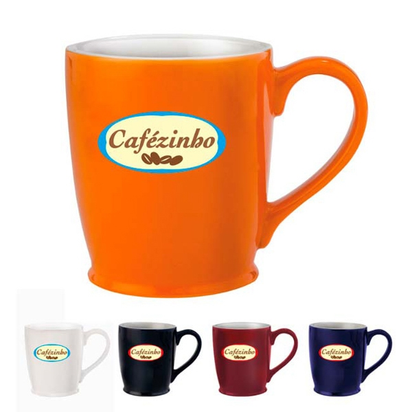 Promotional Stylish Cafe Mug - 16 oz