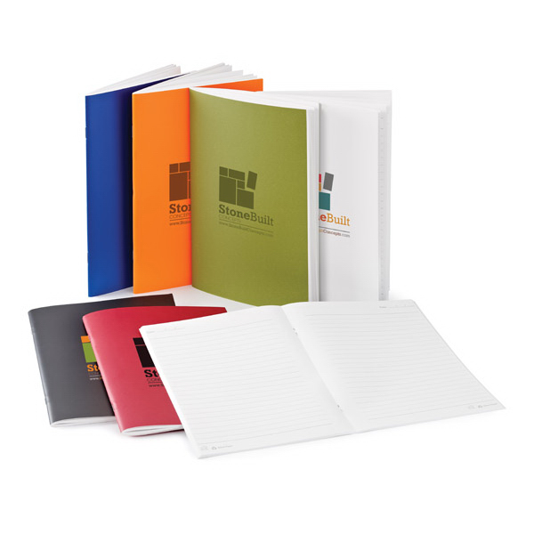 Imprinted Amico Stone Paper Notebook