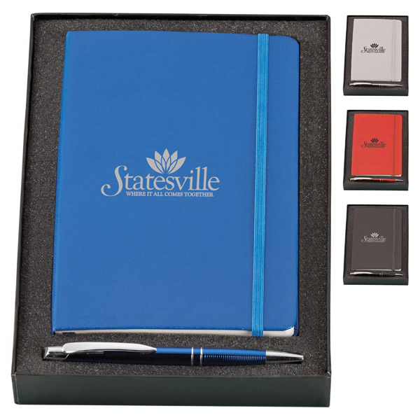 Promotional Marina Pen & Classico Journal Set