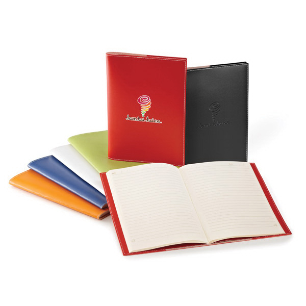Personalized Bradford Cover and Saddle-Stitched Notebook