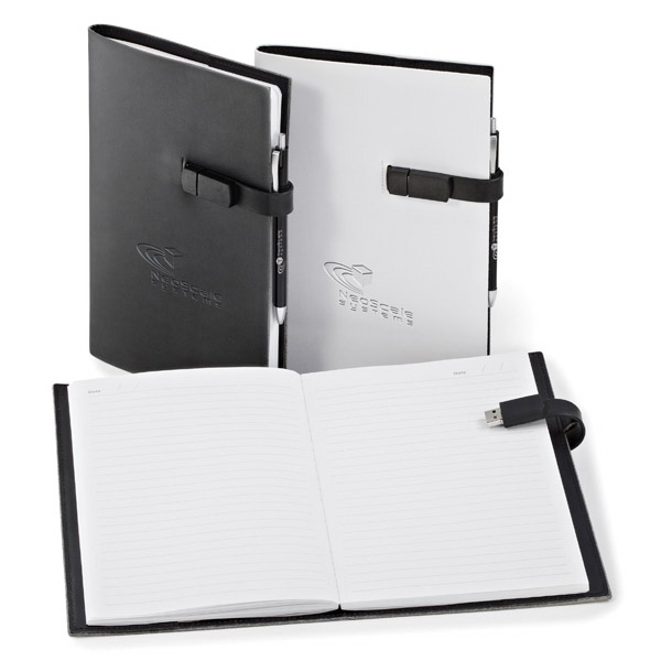 Promotional USB Journal Combo