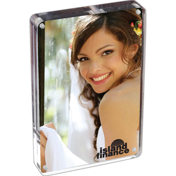 Customized Prato - Two Sided Acrylic Photo Frame