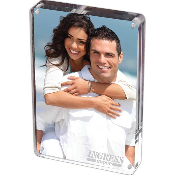 Printed Prato - Two-Sided Acrylic Photo Frame