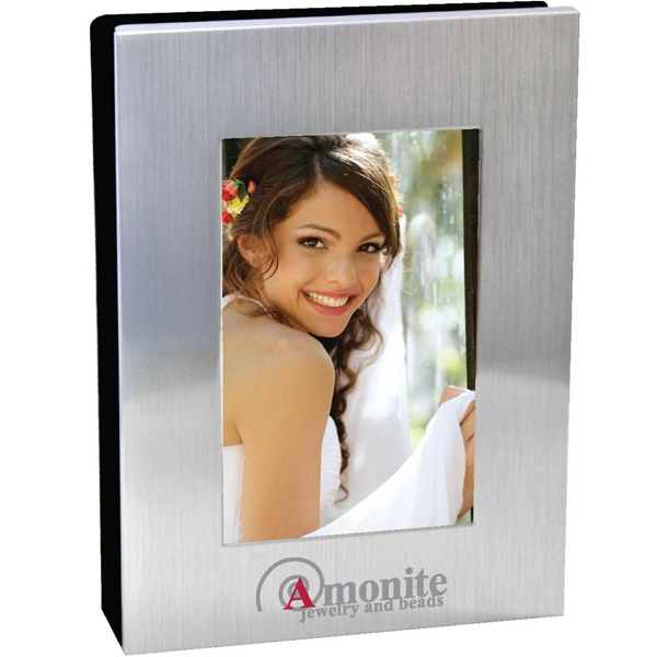 Customized Brushed Metal Photo Album