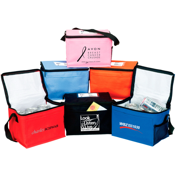 Personalized Bedford 6 pack Insulated Cooler