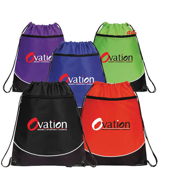 Personalized Atlantis Drawstring Backpack