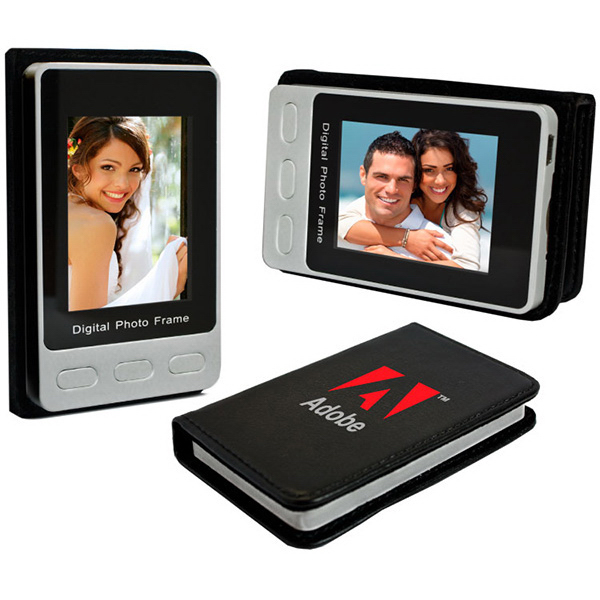 "Personalized Travel digital photo frame with 2.4"" LCD display"