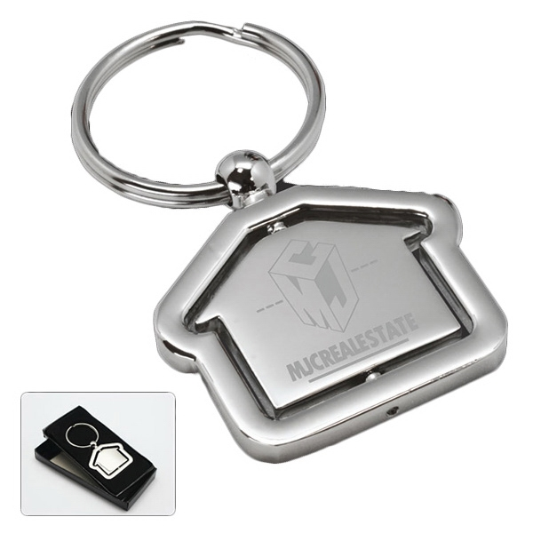 Customized Rochester Revolving House Key Tag