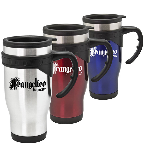 Customized Fremont - 16 oz Stainless Steel Travel Mug