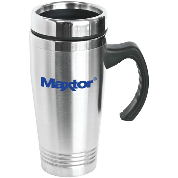Printed Napa - 16 oz Stainless Steel Travel Mug