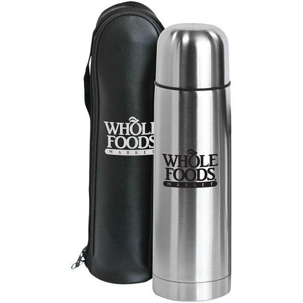 Promotional Clayton - 12 oz Bullet Stainless Steel Vacuum Bottle