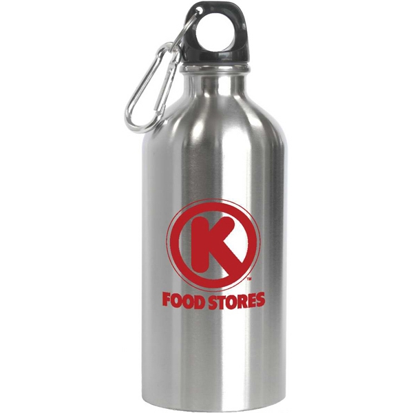 Custom Novato - 16 oz Stainless Steel Sports Bottle