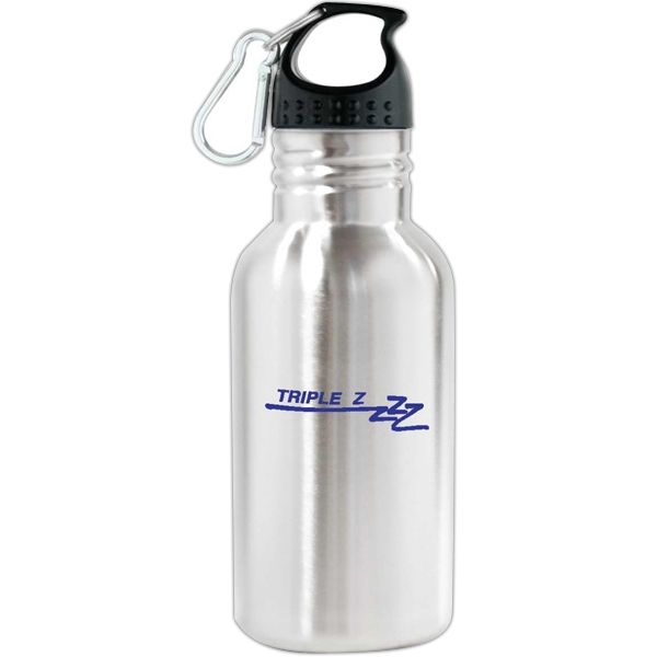 Personalized Oakley - 16 oz Stainless Steel Sports Bottle
