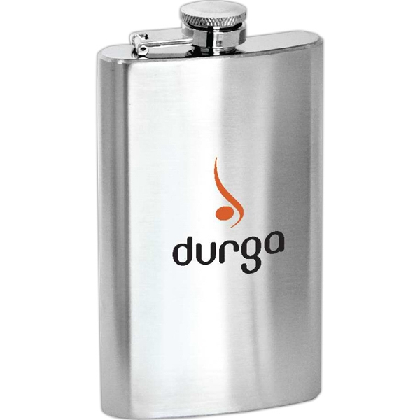 Customized Lincoln - 5 oz Stainless Steel Hip Flask