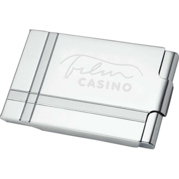 Customized Contempo Business Card Holder