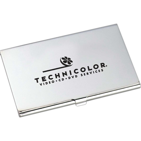 Imprinted Classic Business Card Holder