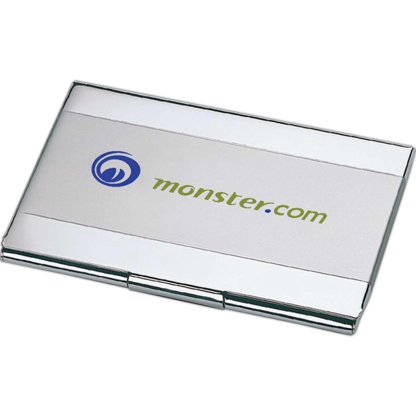 Custom Dual Tone Business Card Holder
