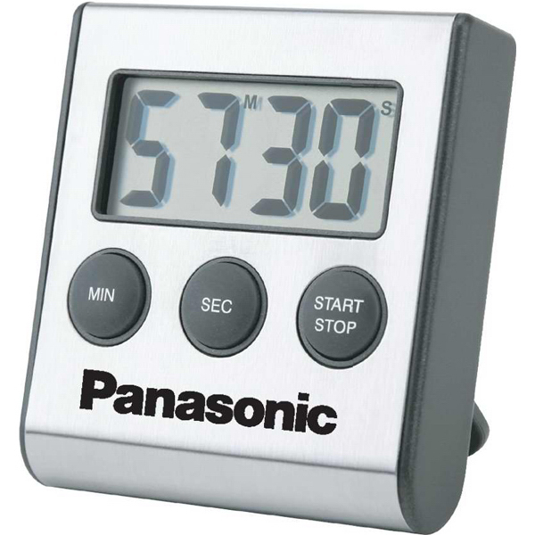 Personalized Large Display Stainless Steel Digital Timer