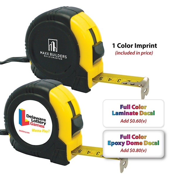 Printed 25 ft Tape Measure
