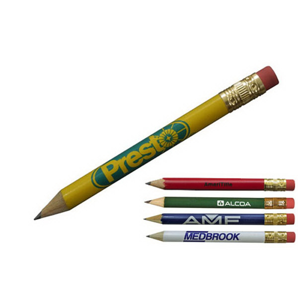 Personalized Golf Pencil with eraser