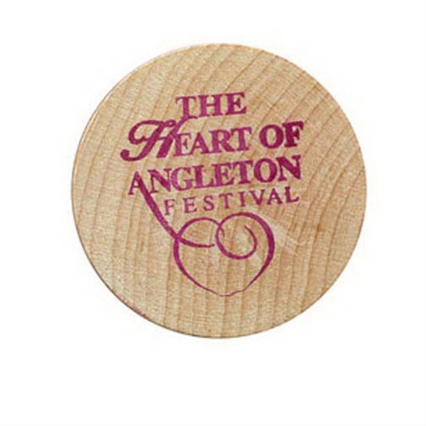 Promotional Wooden Nickel