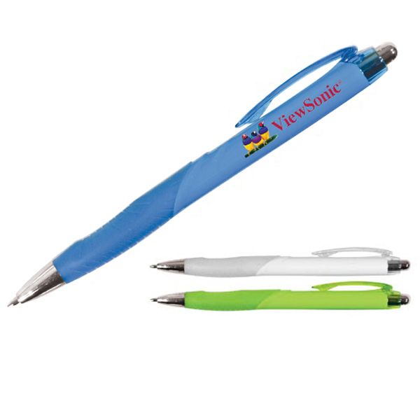 Printed Ergo Grip Pen, Full Color Digital