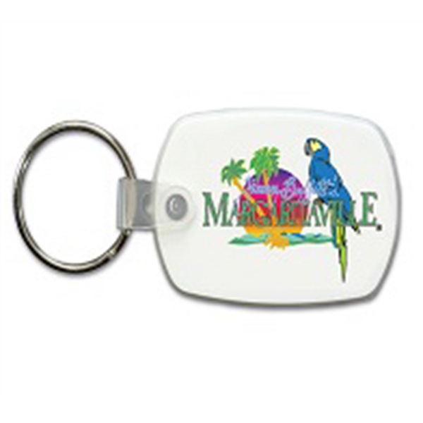 Printed Standard Key Fob, Full Color Digital