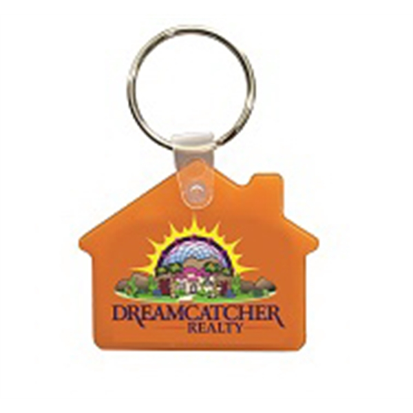 Personalized House Key Fob - Full Color Digital