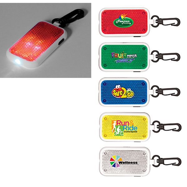 Personalized Safety Light/Reflector, Full Color Digital
