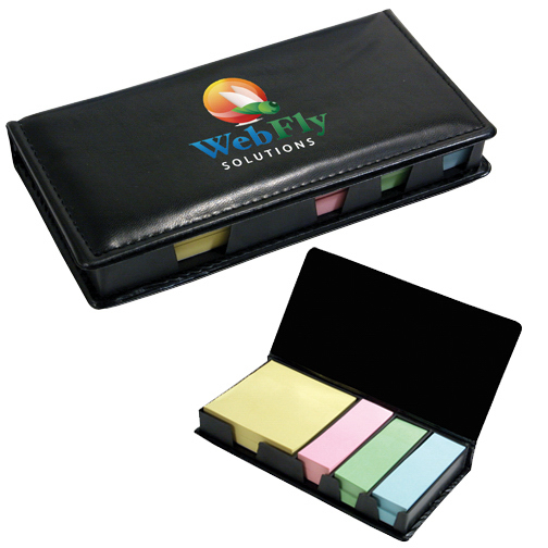 Promotional Executive Sticky Note Holder, Full Color Digital
