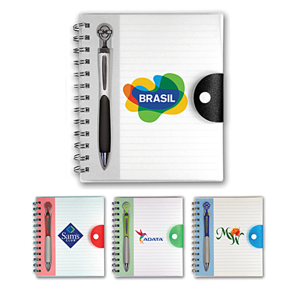 Printed Pick-A-Pen Notebook, Full Color Digital