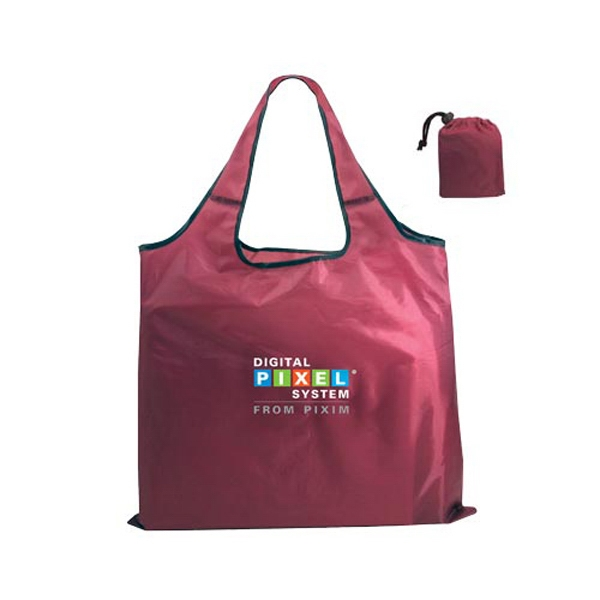 Promotional RPET Fold-Away Carry All, Full Color Digital