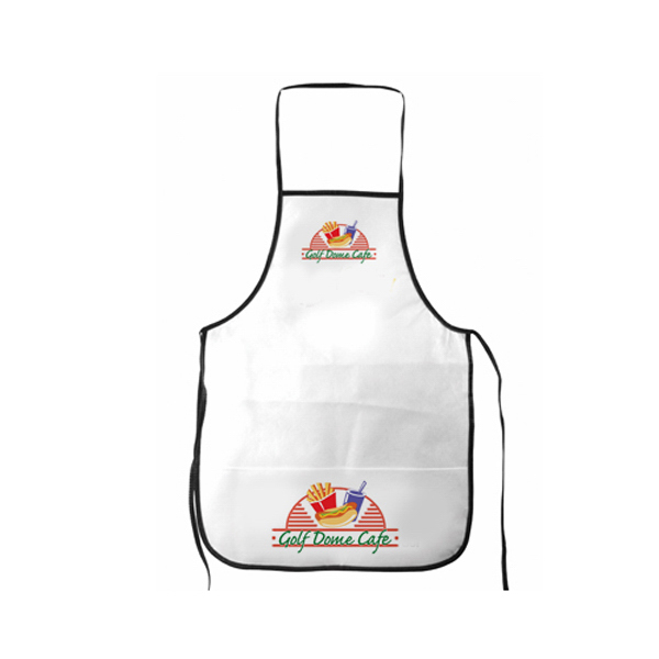 Customized Non-Woven All Purpose Apron, Full Color Digital