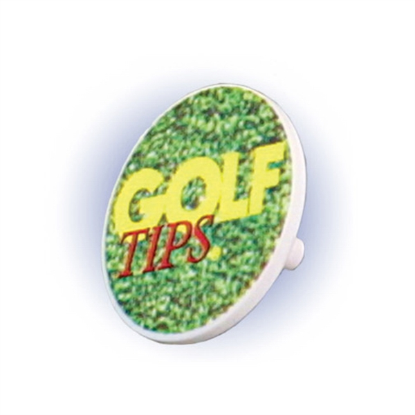 Promotional Ball Marker, Full Color Digital