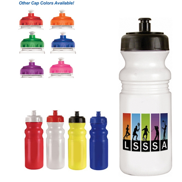 Imprinted 20 oz. Cycle Bottle (1 Side), Full Color Digital - BPA Free