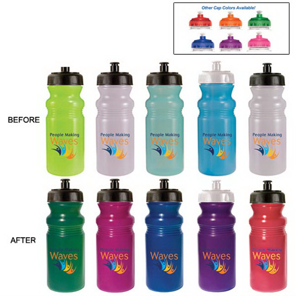 Promotional 20 oz. Sun Fun Cycle Bottle, Full Color Digital - BPA Free
