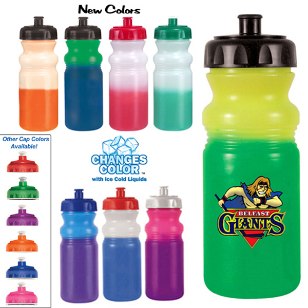 Printed 20 oz. Mood Cycle Bottle (1 Side), Full Color Digital
