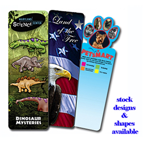Customized Bookmark - Full Color Digital (2 Side Custom Imprint)