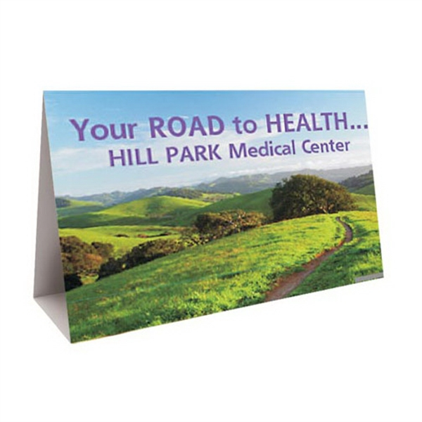 Personalized Digital Printed Wide Table Tents