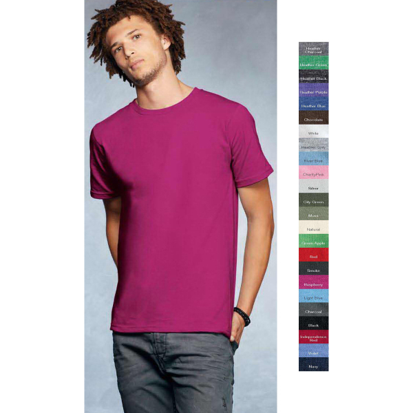 Promotional AnvilOrganic (R) Cotton Short Sleeve T-shirt