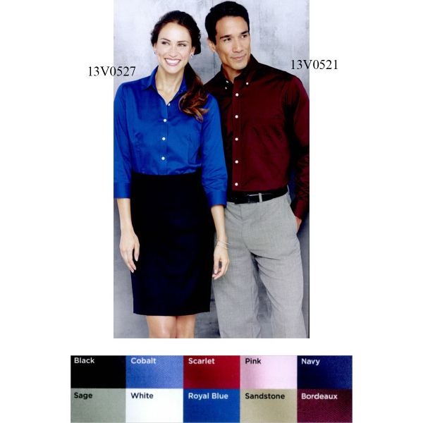 Imprinted Van Heusen Baby Twill Shirt