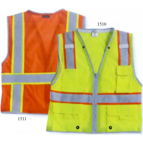 Customized ML Kishigo Brilliant Series Heavy-Duty Class 2 Vest