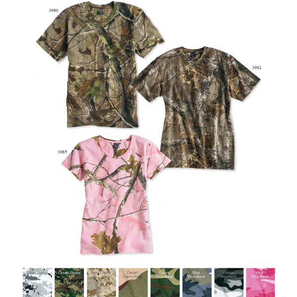Promotional Code V Ladies' Realtree (R) Camouflage t-shirt