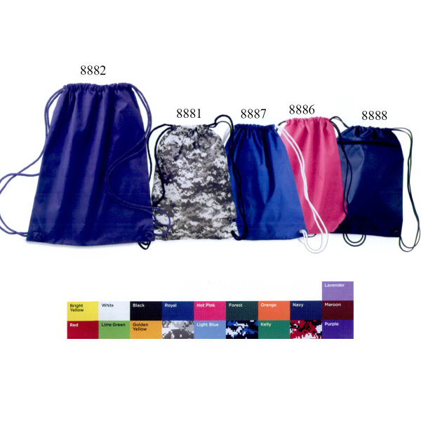 Personalized Liberty Bags Drawstring Pack with DUROcord (R)