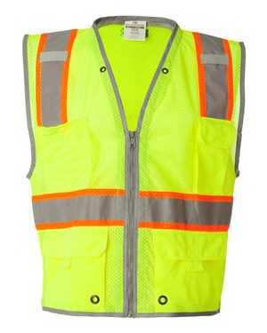 Imprinted ML Kishigo Brilliant Series Heavy-Duty Class 2 Vest