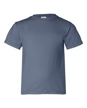 Custom Comfort Colors Youth Pigment Dyed Ringspun T-shirt