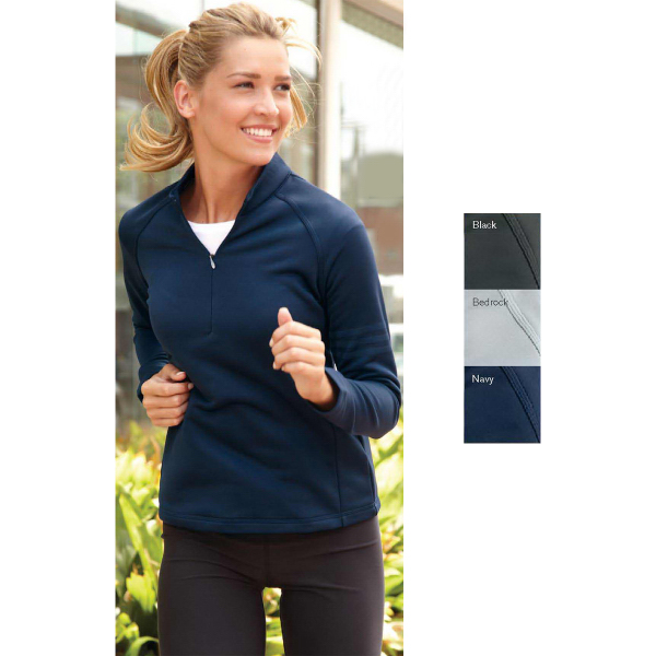 Customized Adidas Golf Ladies' Performance 1/4 zip Training Top