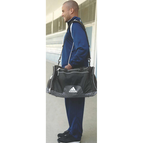 Printed Adidas Golf University Medium Duffel